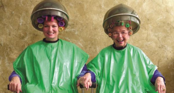 HISC Caregiver Client Hairdos